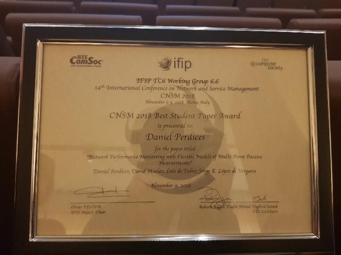 metro haul ers win best student paper award at cnsm 2018 metro haul